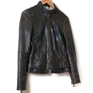 Ted Baker Brown Leather Jacket 1
